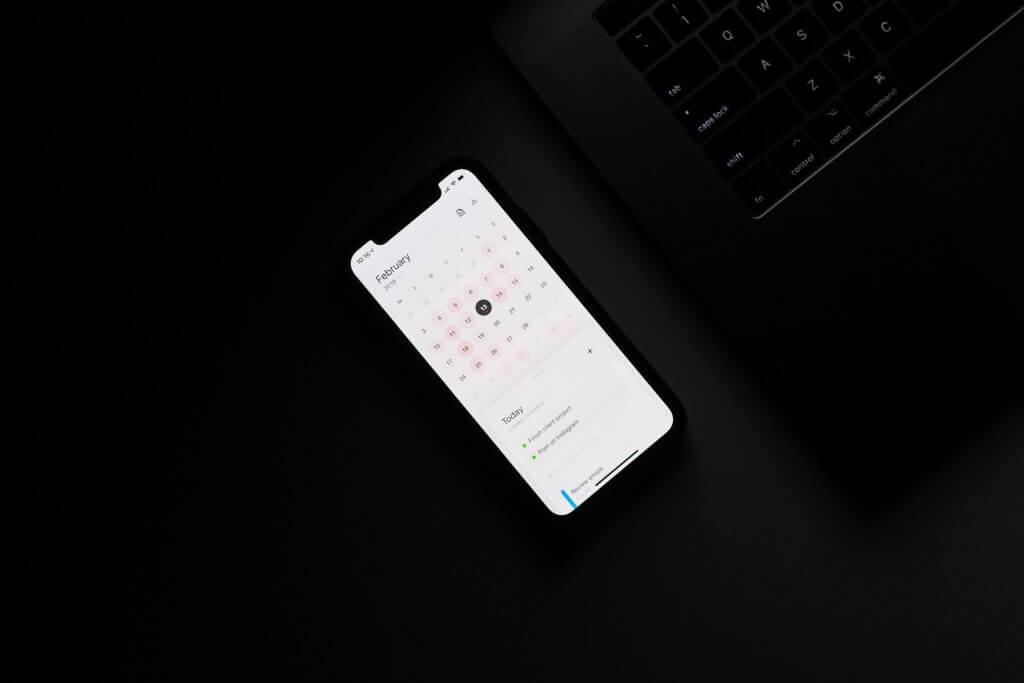 Terminkalender und Terminplanung auf dem Smartphone